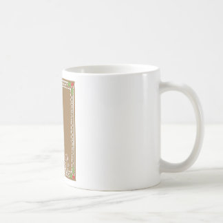 Gingerbread Man Border Coffee Mug