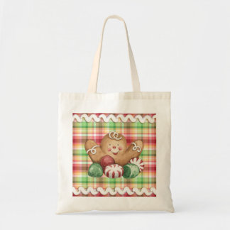 Gingerbread Man & Candy Tote Bag