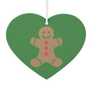 Gingerbread Man Car Air Freshener