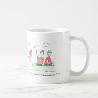 Gingerbread Man Cartoon Mug