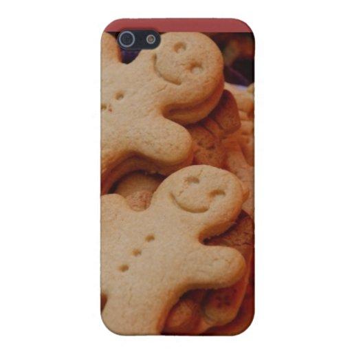 Gingerbread man case iPhone 5 case