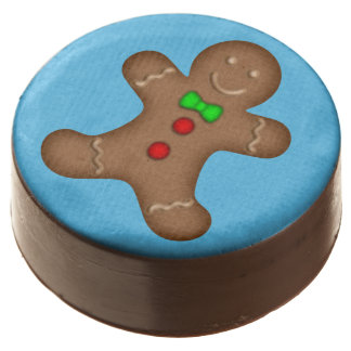 GingerBread Man Chocolate Covered Oreo