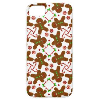Gingerbread man Christmas Monograme iPhone SE/5/5s Case