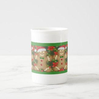 Gingerbread Man Christmas Mug