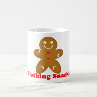 Gingerbread Man Clothing Snacks Mug