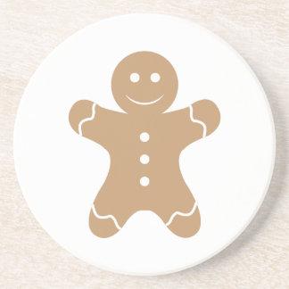 Gingerbread Man Beverage Coaster