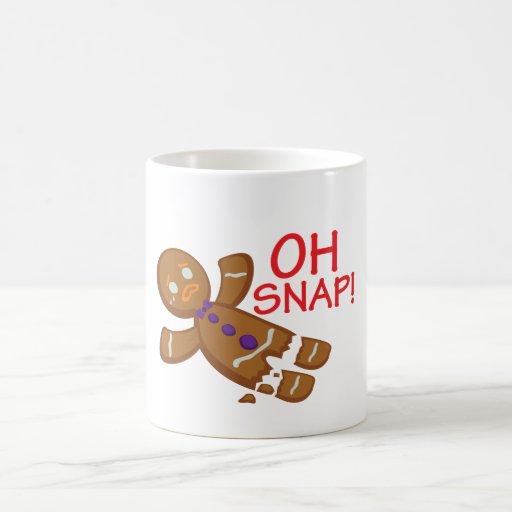 Gingerbread Man Coffee Mugs