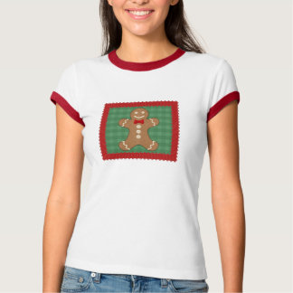 Gingerbread Man Cookie Holiday T-shirt