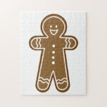 Gingerbread Man cookie Jigsaw Puzzles