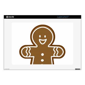 Gingerbread Man cookie Laptop Skin