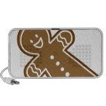Gingerbread Man cookie Notebook Speaker