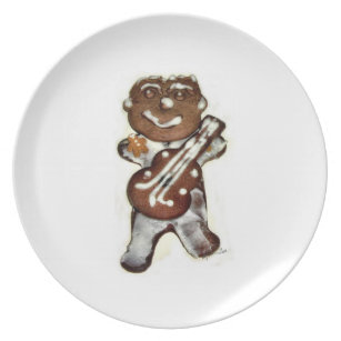 Gingerbread Man Cookie Plate  sc 1 st  Zazzle & Gingerbread Man Plates | Zazzle