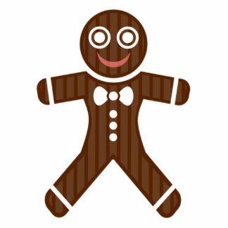 Gingerbread Man Cookie Standing Photo Sculpture