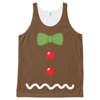 Gingerbread Man Costume All-Over-Print Tank Top