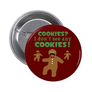 Gingerbread Man Disguise Pin