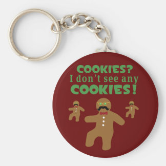 Gingerbread Man Disguise Keychain