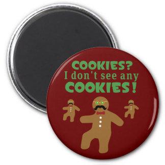 Gingerbread Man Disguise Refrigerator Magnet
