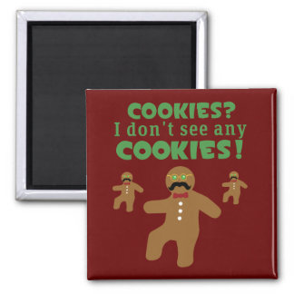 Gingerbread Man Disguise Refrigerator Magnets