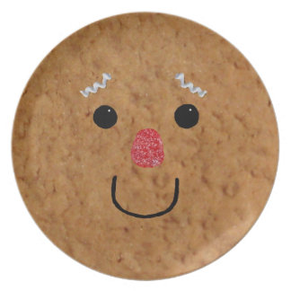 Gingerbread Man Face Plate