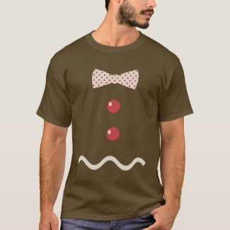 Gingerbread Man Funny Costume T-Shirt
