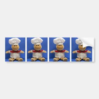 Gingerbread Man, Gingerbread Man, Gingerbread M... Bumper Sticker