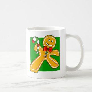 Gingerbread Man Holiday Mug
