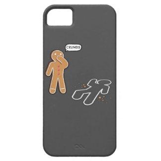 Gingerbread man Ironic Crime scene 'CRUMBS' iphone iPhone SE/5/5s Case