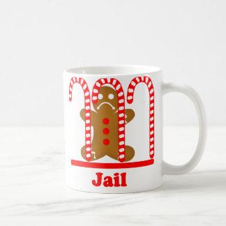 Gingerbread Man Jail Break Mug