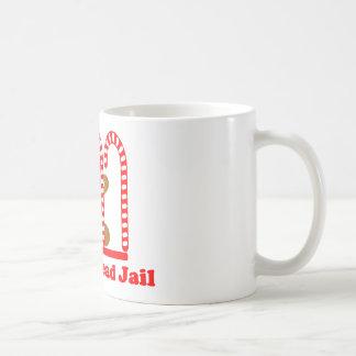 Gingerbread Man Jail Coffee Mug