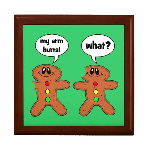 gingerbread man jewelry box