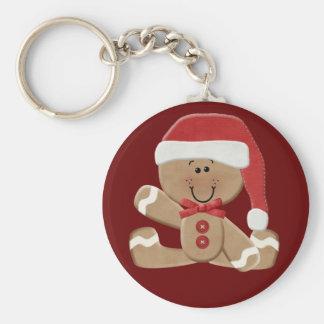 Gingerbread Man Key Chain