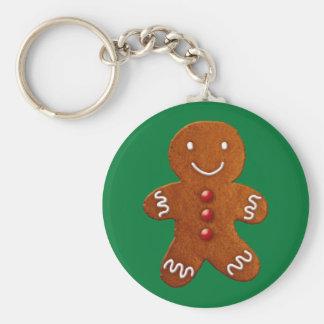 Gingerbread Man Keychain