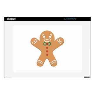 Gingerbread Man Laptop Skins
