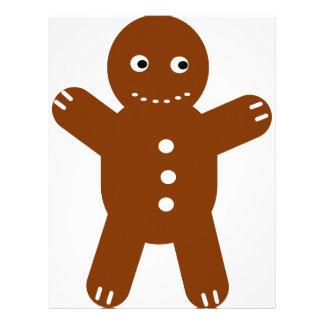 gingerbread man letterhead