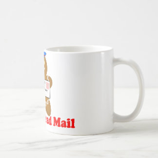 Gingerbread Man Mail Delivery Coffee Mugs