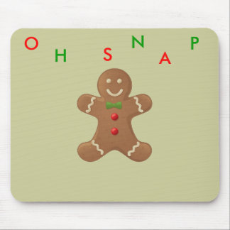 gingerbread-man mouse pad