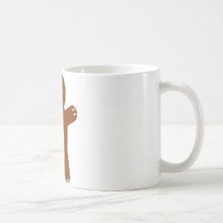 gingerbread man mug