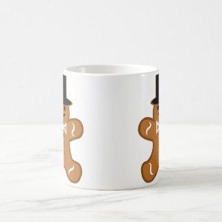 Gingerbread Man Classic White Coffee Mug