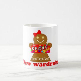 Gingerbread Man New Wardrobe Mug