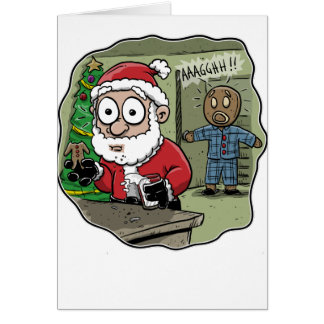 Gingerbread Man Nightmare Card