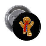 Gingerbread Man - Perfect Landing Buttons