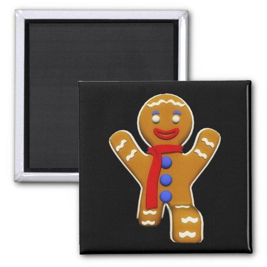 Gingerbread Man - Perfect Landing Magnet