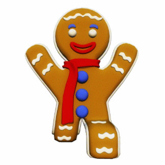 Gingerbread Man - Perfect Landing Statuette