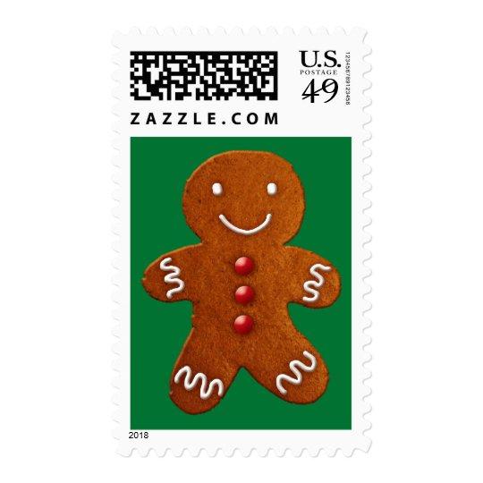 Gingerbread Man Postage