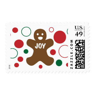 Gingerbread Man Postage