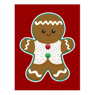 Gingerbread Man Post Cards