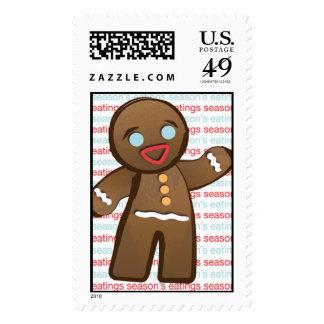 Gingerbread Man Stamp