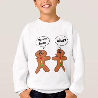 gingerbread man sweatshirt