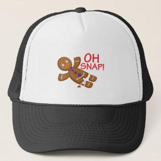Gingerbread Man Trucker Hat