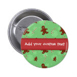 Gingerbread Men & Candy Canes Pins